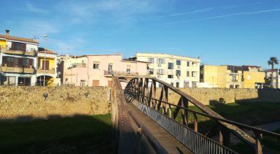 Passerella in ferro riu Matzeu