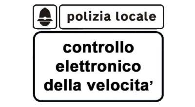 Comunicazione preventiva programmazione postazioni di controllo elettronico della velocità – Marzo 2020