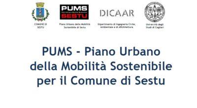 Approvazione PUMS – Piano Urbano della Mobilità Sostenibile per il Comune di Sestu