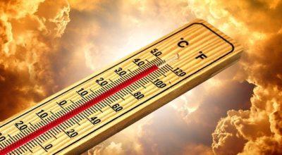 Avviso di condimeteo avverse per alte temperature dalle ore 11:00 del 29/07/2020 alle 19:00 del 31/07/2020