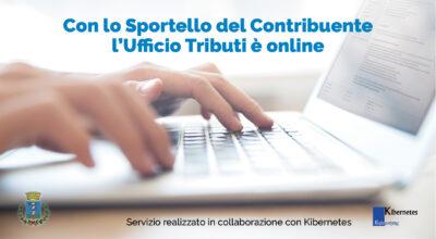 Nuovo servizio online Sportello Web del contribuente