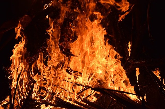 Rischio estremo incendio: allerta rossa per il giorno martedì 10 Agosto 2021